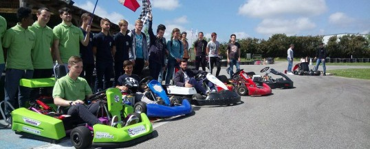 Kart Center et le lycée Jeanne d'Arc de Pontivy dans la presse