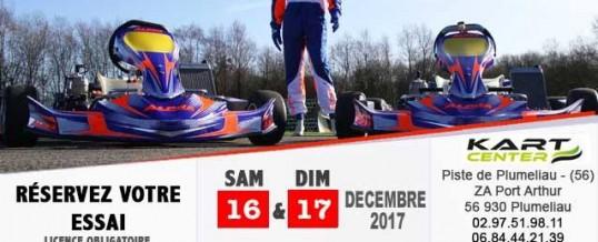 Portes ouvertes Alpha-karting les 16 et 17 décembre 2017