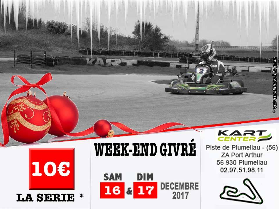 tout un week end avec des tarifs givr s kart center plum liau le karting dans le morbihan. Black Bedroom Furniture Sets. Home Design Ideas