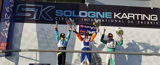 Première course et première victoire pour Bastian et D-KART Compétition