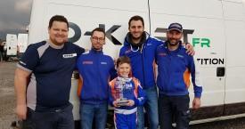 Magnifique seconde place pour Bastian (D-KART compétition) à Brignoles