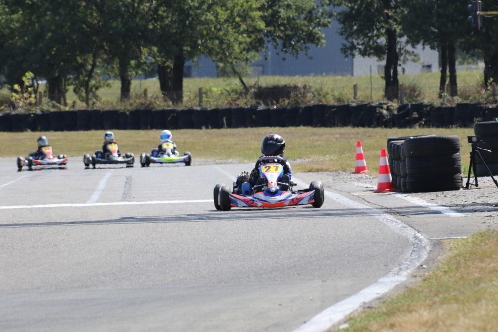 Bastian Leblais - Cadets (Alpha-Karting / Iame / D-Kart) a survolé cette épreuve de Laval