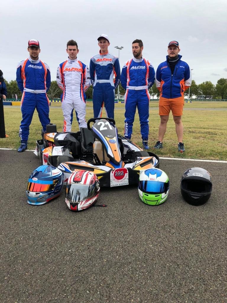 Equipe D-Kart aux 24H Open Kart