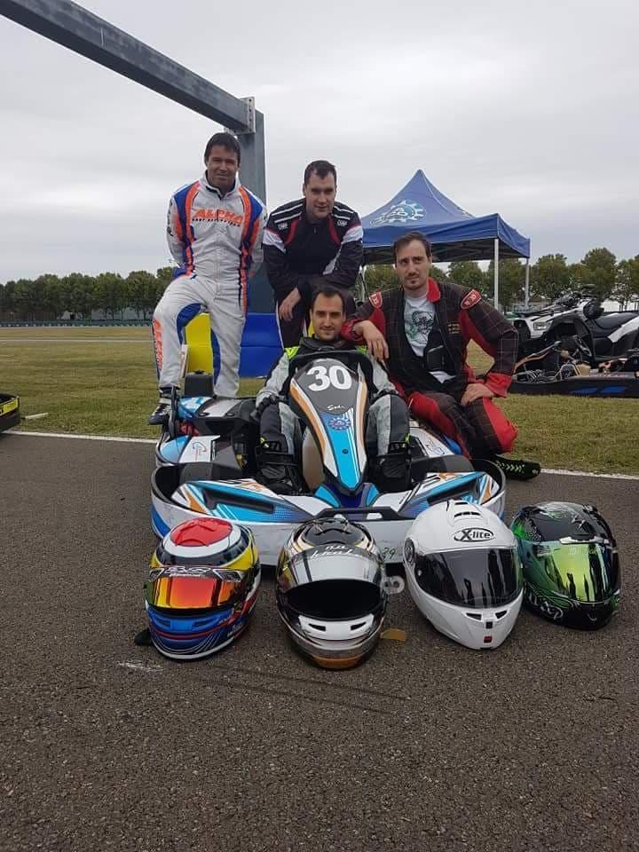 L'équipe No Brake au complet