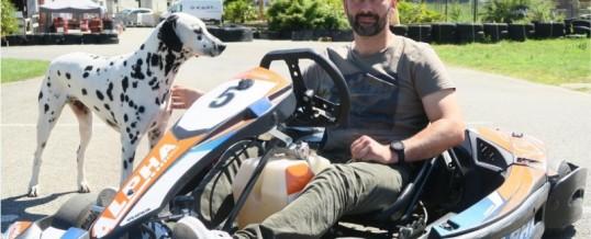 Kartcenter dans le journal pour la réouverture de la piste de karting