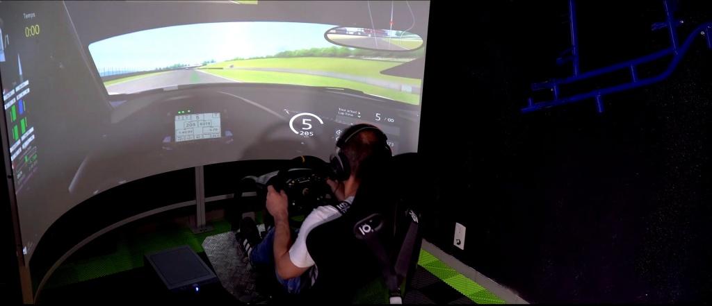 Simulateur dynamique Kartcenter Pluméliau